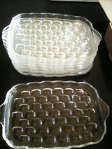 6x9 inch glass tray(set of 8) in Naperville, Illinois