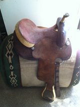 Western Barrel Saddle in Yucca Valley, California