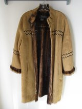 Terry Lewis Faux Suede Coat in Yucca Valley, California