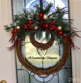 Christmas wreaths in Fort Hood, Texas