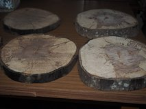 Rustic Wood discs for decorating Thanksgiving  table, Christmas etc in Perry, Georgia