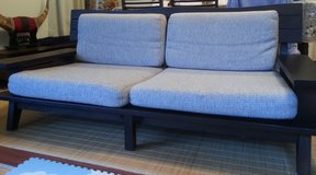 Two seater and three seater Nitori Couches in Okinawa, Japan