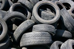 your old tires in 29 Palms, California