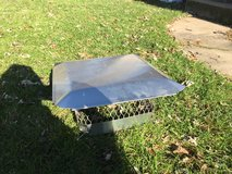 Stainless steel chimney cap - like new in Aurora, Illinois