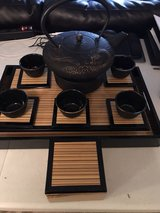 Cast Iron Tea Set with Tray in Fort Lewis, Washington
