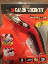 Black & Decker SZ360 Power Scissors - Cordless & Rechargeable 3.6 Volts Sealed in Warner Robins, Georgia