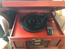 Crosley record player/ CD recorder with remote in Wilmington, North Carolina