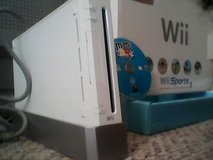 Nintendo Wii System & Game (no controllers) in Fort Riley, Kansas