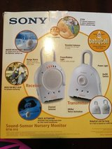 Sony sound-sensor nursery monitor in Conroe, Texas