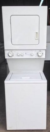 GE 110 Volt Stackable Washer and Dryer in Camp Pendleton, California