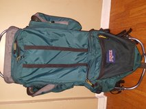 Jansport external frame hiking backpack in Glendale Heights, Illinois