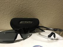 ESS clear glasses with extra tinted lens and case in Camp Pendleton, California
