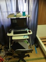 Computer desk and chair in Okinawa, Japan