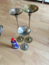 candle holders silver in Ramstein, Germany
