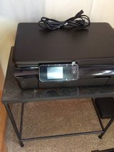 HP 5520 PRINTER - PRINT/SCAN/COPY -  2 BLACK INK CARTRIDGES - LIKE NEW in Plainfield, Illinois
