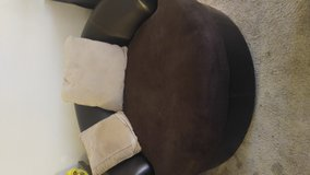 2 pc sectional with large round chair in Yucca Valley, California
