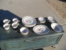 $$  ' Queens Rose ' China Set  $$ in Yucca Valley, California