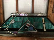 Antique Pool Table Light in Kingwood, Texas