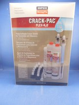 SIMPSON Crack-Pac Flex H2O Crack Sealer for Concrete and Masonry - NEW in St. Charles, Illinois