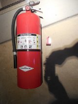 2 AMEREX Dry Chemical 20 lb AL VLV Fire Extinguishers - NEW in original boxes in St. Charles, Illinois