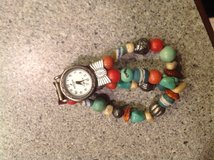 Peyote Bird silver and turquoise warch in Glendale Heights, Illinois