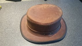 Stocker leather hat by Steampuck Hatter in Camp Lejeune, North Carolina
