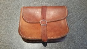 Small leather pouch with belt loop in Camp Lejeune, North Carolina