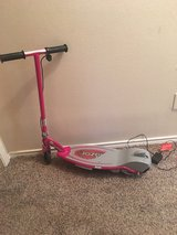 pink electric scooter in Lawton, Oklahoma