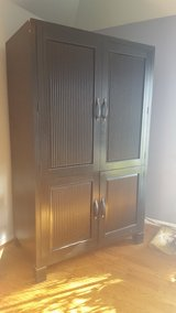 Gorgeous Heavy Black Cabinet in Joliet, Illinois