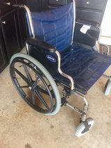 "XL Wheelchair - 22"" seat - Invacare in Warner Robins, Georgia"