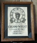 Cream Of Wheat Framed Ad in Ottumwa, Iowa