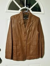 metrostyle leather lightweight jacket in Fort Bragg, North Carolina