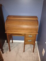 Antique roll top children's school desk in Cherry Point, North Carolina