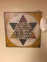 WOOD CHINESE CHECKERS BOARD in St. Charles, Illinois