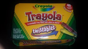 New!  Trayola filled with 6 Sets of 8 Crayola Twistables in Glendale Heights, Illinois