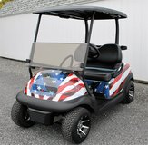 STARS & STRIPES... Club Car Precedent....2013..Golf Cart in Fort Drum, New York