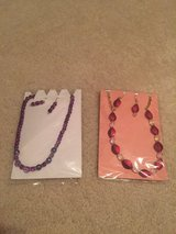 Handmade Necklace and earrings set in Yorkville, Illinois