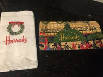 2 New Harrod's Christmas Kitchen Towels in St. Charles, Illinois