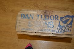 Dan Tudor & Sons wooden crate in Camp Lejeune, North Carolina