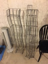 two collapsible cd/DVD holders/towers/racks in Joliet, Illinois