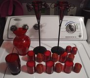 Red Candles holders Lot in Clarksville, Tennessee
