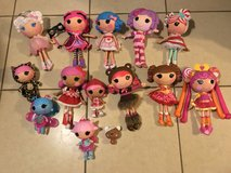 Large Lot of Lalaloopsy Full Size Dolls EUC in Travis AFB, California