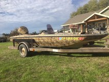 77 Glastron Bass / Duck hunting boat in Travis AFB, California