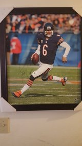 Autographed Jay Cutler framed canvas in Tinley Park, Illinois