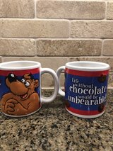 Collectible Fannie May mugs in Chicago, Illinois