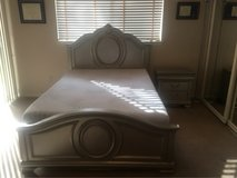 Full Size Bed & Nightstand in Spring, Texas