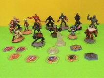 Disney Infinity Characters, power discs and play set piece in Fort Polk, Louisiana