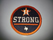"ASTROS ""Houston Strong"" Official Game Jersey Logo Patch - New - Call Now! in League City, Texas"