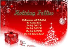 Great Family Fun - This weekend! POPs Holiday Follies - in Okinawa, Japan