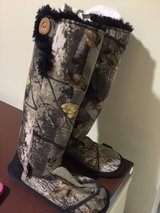 Hunter soft boots in Okinawa, Japan